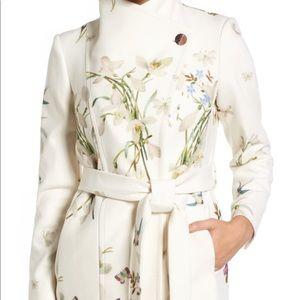 Ted Baker Floral Wrap Coat